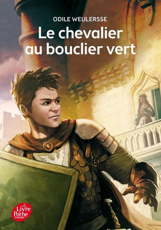chevalier bouclier vert